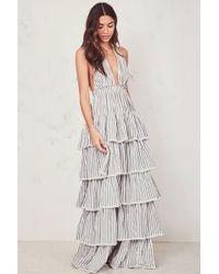 c095243111 Tory Burch Clarissa Floral Dress - Lyst