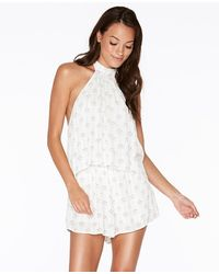 L*Space - Kelly Native Geo Romper - Lyst