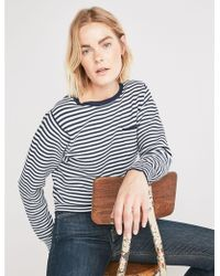 Lucky Brand - French Stripe Pullover - Lyst