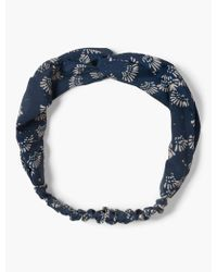 Lucky Brand - Exploded Floral Headscarf - Lyst