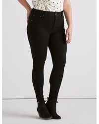 Lucky Brand - Plus Emma Legging Jean In Eureka Black - Lyst