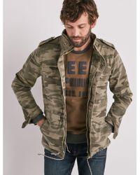 Lucky Brand - M65 Camo Jacket - Lyst