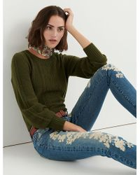 Lucky Brand - Cable Stitch Pullover - Lyst
