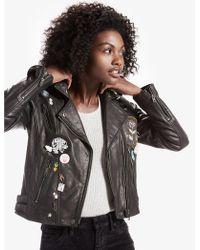 Lucky Brand | Pin Moto Jacket | Lyst
