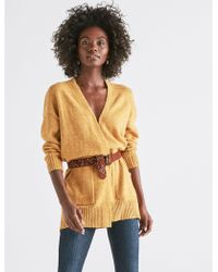 Lucky Brand - Long Sleeve Classic Cardigan - Lyst