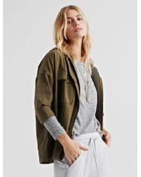 Lucky Brand - Hooded Utility Jacket - Lyst