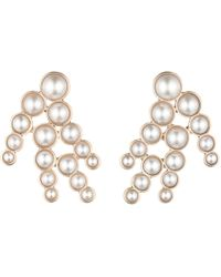 Lulu Frost - Lustre Pearl Spray Earring - Lyst