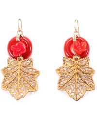 Lulu Frost - Vintage Olbrich Passage Earrings - Lyst
