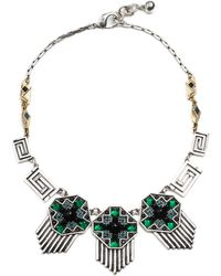 Lulu Frost - Vaulted Triple Necklace - Lyst