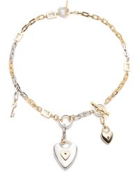 Lulu Frost - Folly Heart & Key Midi Necklace - Lyst