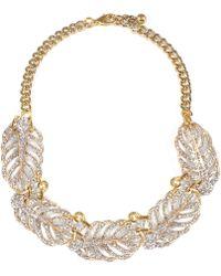 Lulu Frost - Goldtone Drift Necklace - Lyst