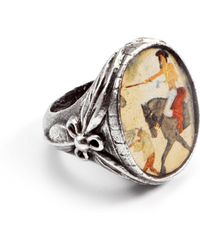 Lulu Frost - George Frost Frohawk Battle Ring - Sterling Silver - Lyst