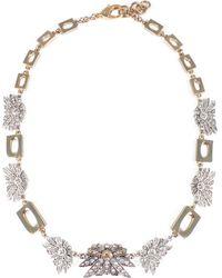 Lulu Frost - Larkspur & Gold Link Midi Necklace - Lyst