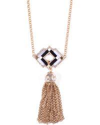 Lulu Frost - Petra Long Tassel Necklace - Lyst