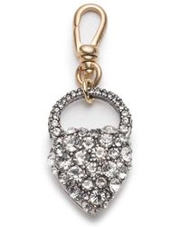 Lulu Frost - Nina Crystal Heart Charm - Lyst