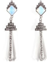 Lulu Frost - Crystaline Clip On Earring - Lyst