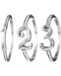 Lulu Frost - Code Number Ring Sterling Sterling Silver - Lyst