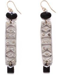 Lulu Frost - Vintage Art Deco Ladder Jaunt Earrings - Lyst