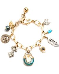 Lulu Frost - Vintage Voyage Charm Bracelet 18 - Lyst