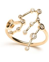 Lulu Frost - Zodiacs 14k Aquarius + Air Ring - Lyst