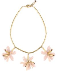 Lulu Frost - Tahiti Necklace - Pink - Lyst