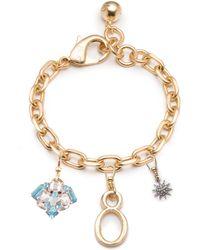 Lulu Frost - Plaza & Vintage Multi-charm Bracelet #3 - Lyst