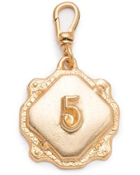 Lulu Frost - Coin Number Charm #5 - Lyst
