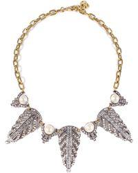 Lulu Frost - Demeter Statement Necklace - Lyst