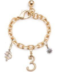 Lulu Frost - Plaza Multi-charm Bracelet - Lyst