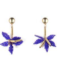 Lulu Frost - Tahiti Drop Earrings - Blue - Lyst
