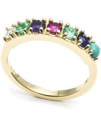 Lulu Frost - Code Word Love Ring 14k Gold - Lyst