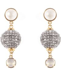 Lulu Frost - Cupola Drop Earrings - Lyst