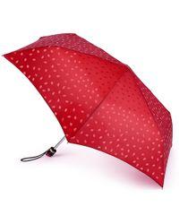Lulu Guinness - Lipstick Handle Superslim Umbrella - Lyst