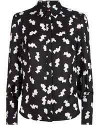 Lulu Guinness - Kissing Cameo Beatrix Blouse - Lyst