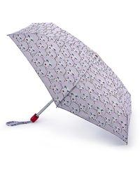 Lulu Guinness - Doll Face Tiny Umbrella - Lyst