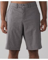 """lululemon athletica - The Works Short Qwick Oxford 11"""" - Lyst"""