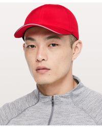 Lululemon Athletica Lightspeed Run Hat in Green for Men - Lyst 536445f957e7