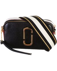 Marc Jacobs - Black And Red Snapshot Bag - Lyst