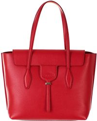 Tod's - Red New Joy Tote Bag - Lyst
