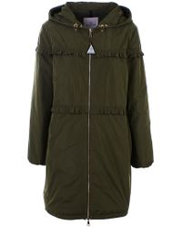 Moncler - PARKA LUXEMBOURG VERDE - Lyst