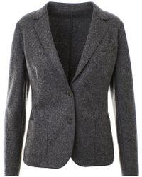Eleventy - Grey Single-breasted Blazer - Lyst
