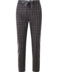 Eleventy - Grey Pants - Lyst