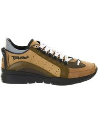 DSquared² - Army Green Runner Sneakers - Lyst