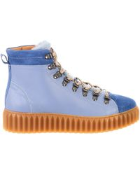 Voile Blanche - Light Blue Fenny Boots - Lyst