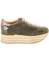 Hogan - Platform Lace-up Sneakers - Lyst