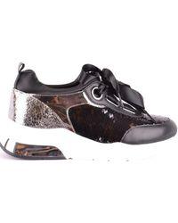2cc937bf6501 Lyst - Giuseppe Zanotti Lorenz Wedge Sneakers in Brown