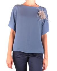 Fabiana Filippi - Blue Acetate Shirt - Lyst