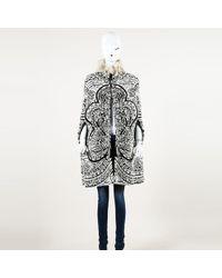 Emilio Pucci - Jacquard Badger Fur Cape - Lyst