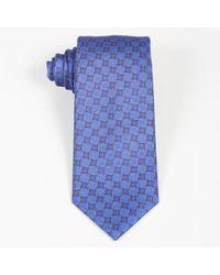 Brioni - Men's Multicolor Silk Geometric Patterned Tie - Lyst