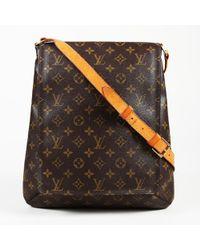 """Louis Vuitton - Monogram Coated Canvas """"musette Salsa Gm"""" Shoulder Bag - Lyst"""